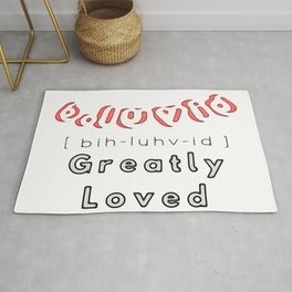 Bubble B.Luvid greatly loved Rug