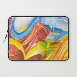 climb the mountain. the view is better up there Laptop Sleeve