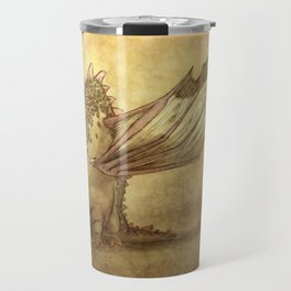 Del, the lonely desert dragon Travel Mug