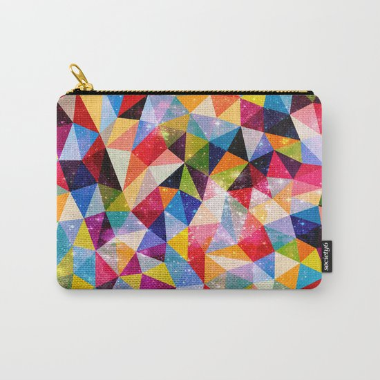 Space Shapes Carry-All Pouch