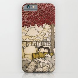 swept away & stranded iPhone Case