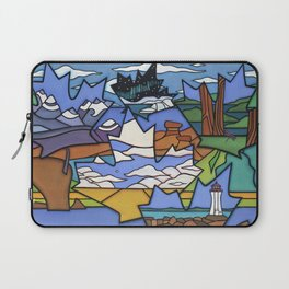 FROM SEA TO SEA TO SEA Laptop Sleeve
