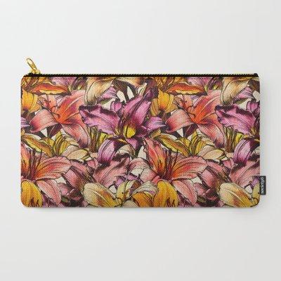 Daylily Drama - a floral illus...
