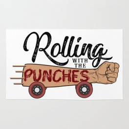 Rolling with the Punches Rug