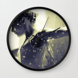 Noir Redux Wall Clock