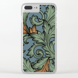Acanthus Leaves Clear iPhone Case