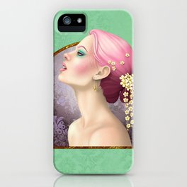 Cascade of Flowers iPhone Case