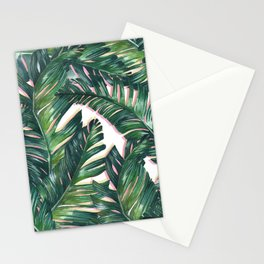 banana leaf 3 Stationery Cards