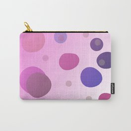 DESIGN DOTS - BLUE Carry-All Pouch