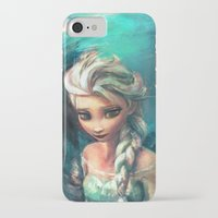 alicexz iPhone & iPod Cases featuring The Storm Inside by Alice X. Zhang