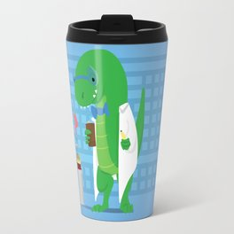 Dinosaur Scientist Travel Mug