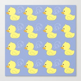 Rubber Ducky You're the One Canvas Print