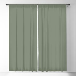 Mellow Earth Green Pairs with Magnolia Paints Olive Grove JG-09 Blackout Curtain