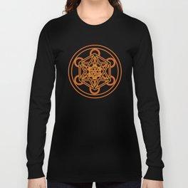 Metatron Red Gold Long Sleeve T-shirt