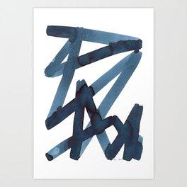 Assertion Art Print