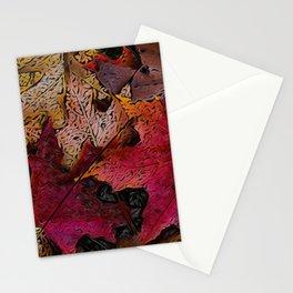 Fallen Leafs Stationery Cards