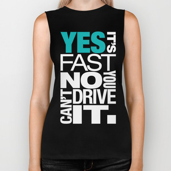 Yes it's fast No you can't drive it v2 HQvector Biker Tank