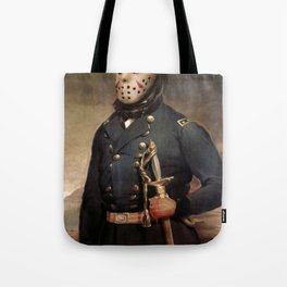 Jason Voorhees Friday The 13th Tote Bag