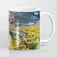 maryland Mugs featuring Maryland Blue by O'Postrophy