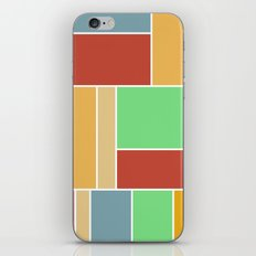 Abstract #347 60's Color Palette iPhone & iPod Skin