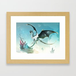 Skyeurosaur - Illustration Framed Art Print