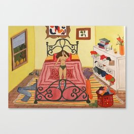 """""""Cleaning"""" Canvas Print"""