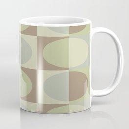 Retro MidCentury Oval pattern 4 Coffee Mug
