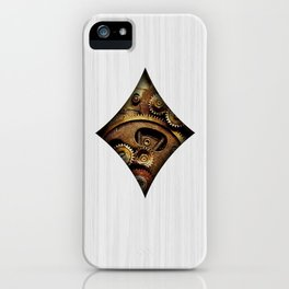 Steampunk Ace - Diamond iPhone Case