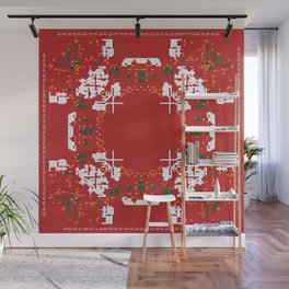CA Fantasy Red Merry Christmas series #3 Wall Mural
