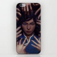 korra iPhone & iPod Skins featuring Korra by Meder Taab