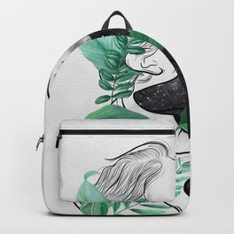 Rain forest. Backpack