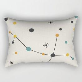 Andromeda Constellation Rectangular Pillow