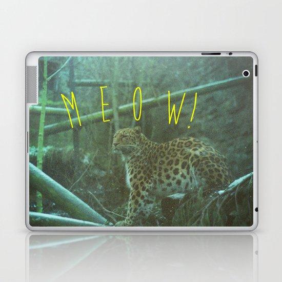MEOW! Laptop & iPad Skin