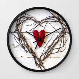Heart ofHearts Wall Clock