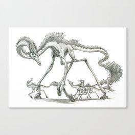 The Clawhoof Giraffagon Canvas Print