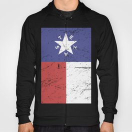 Retro Style Texas Flag Hoody
