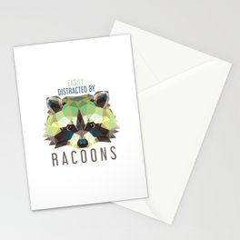 Raccoon Pet Parent Stationery Cards