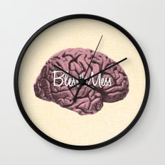 Bless this Mess. Wall Clock