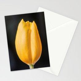 Yellow Tulip Flower, Wall Art Bedroom, Digital Art, Painting Stationery Cards