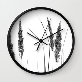 Calamagrostis Stricta Wall Clock