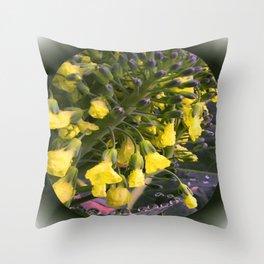 Flowerettes Throw Pillow
