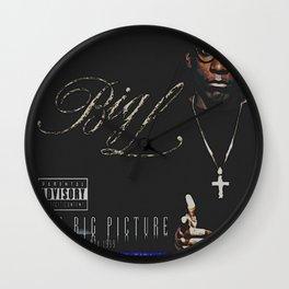 Long live Big L / The bigger picture album cover Wall Clock