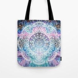 Mandala Dream   Watercolor Galaxy Painting Tote Bag