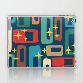 Retro Mid Century Modern Abstract Pattern 221 Laptop & iPad Skin