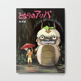 my neighbor appa Metal Print