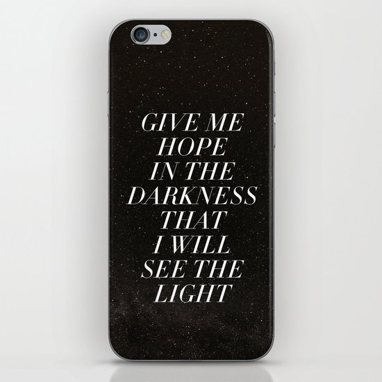 Ghosts That We Knew iPhone Skin