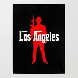 Los Angeles mafia Poster