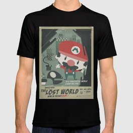 mario bros 4 fan art T-shirt