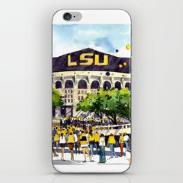 LSU Game Day iPhone Skin