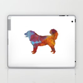 Yugoslavian Shepherd Dog in watercolor Laptop & iPad Skin